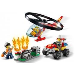 LEGO City - Combate ao Fogo com Helicóptero (93pcs) 2020