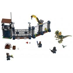 LEGO Jurassic World - Ataque de Dilofossauro ao Posto (577pcs) 2018