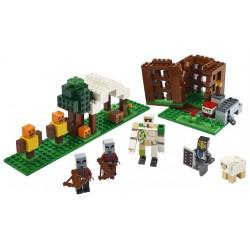 LEGO Minecraft - O Posto Avançado do Saqueador (303pcs) 2020