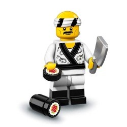 "LEGO Minifigure - Ninjago Movie ""Sushi Chef"""