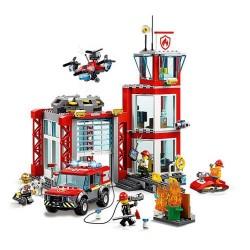 LEGO City - Quartel dos Bombeiros (509pcs) 2019