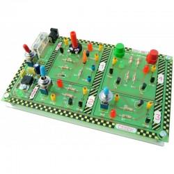 Electrónica - Módulo Experiências com Transistores PNP e NPN - EDU-007