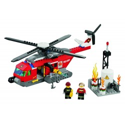 LEGO City - Helicóptero de Combate ao Fogo (232 pcs.) - Descontinuado