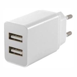 Alimentador c/2 Portas USB de 5V 2,1A - USW002
