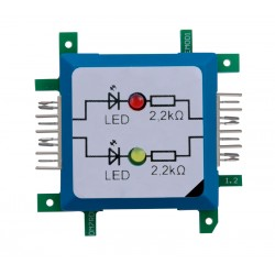 Brick'R'knowledge - Two Diodes, red/yellow - BR125681