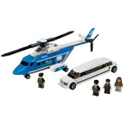 LEGO City - Helicóptero e Limusina (267 pcs.) Antigo