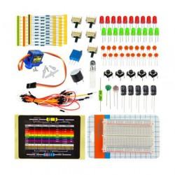 KIT de Iniciação p/Arduino c/Beardbord 400+Comp. - KIT0053