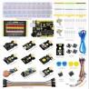 KIT Aprendizagem c/sensores+Breadboard 840 p/Arduíno UNO R3 - KIT0178