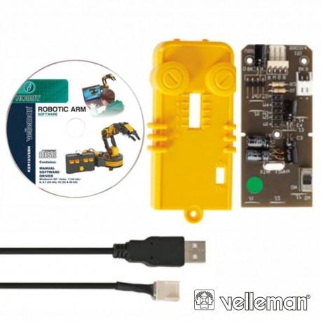 Interface USB para C9895 (Velleman) - KSR10USB