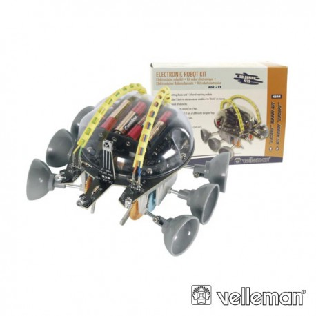 KIT Robô Escape c/IR e 6 rodas (Velleman) - KSR4