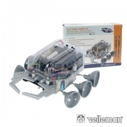 KIT Robô Escape c/Sensor de Toque e 6 rodas (Velleman) - KSR5