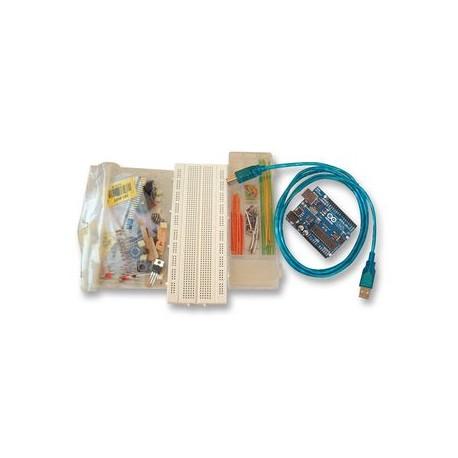 KIT Workshop básico c/Arduino UnoR3 + Componentes (Original) - A000010
