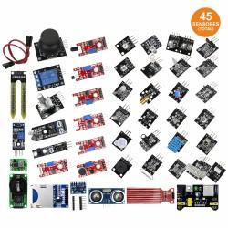 Robótica - KIT c/45 Sensores diversos p/Arduino - ARD20