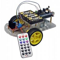 Robô c/Controlo Remoto p/IR Arduino UNO R3 - C9877