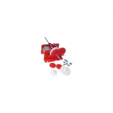 EDUTEK - KIT Motor solar 1,5/4,5Vcc + engrenagens p/diversas reduções - C8051