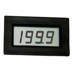 Módulo de Voltímetro LCD 9/12V alim. c/3 escalas max. 500V - C8401