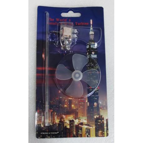 Mini Gerador Eólico com 3 LED's - 3290