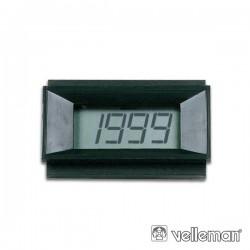 Módulo LCD Digital Panel Meter 0-1999V DC Alim. 9-12V DC - PMLCD