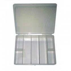 Caixa plástica vazia p/arrumação de componentes (1pcs.) - C-9401C1