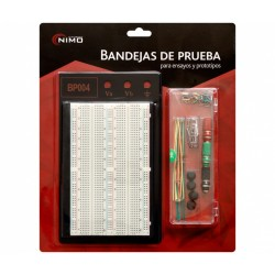 "KIT Breadboard c/1560 contactos+70 pontes ""EIC-104-1J"""