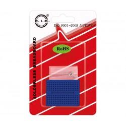 """Breadboard mini c/170 contactos - Azul """"EIC-15010"""""""