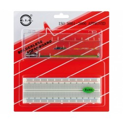 "KIT Breadboard 840 contactos(640+200)+70pontes ""EIC102J"""