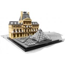 LEGO ARCHITECTURE - Museu do Louvre (695 pcs.) 2016