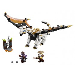 LEGO Ninjago - O Dragão de Combate de Wu (321pcs) 2020