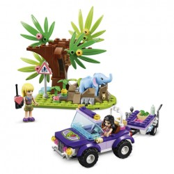 LEGO Friends - O Resgate na Selva do Elefante Bebé (203pcs) 2020