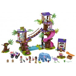 LEGO Friends - Base de Resgate da Selva (648pcs) 2020