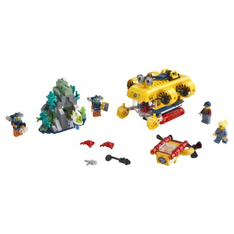 LEGO City - Submarino de Exploração do Oceano (268pcs) 2020