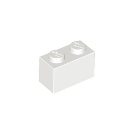 LEGO Peça - Brick 1x2 (White) 1959
