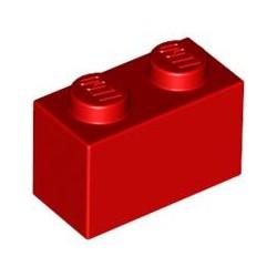 LEGO Peça - Brick 1x2 (Red) 1959