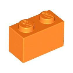 LEGO Peça - Brick 1x2 (laranja) 1959