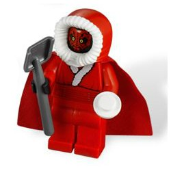 LEGO STARWARS Minifiguras - Santa Darth Maul
