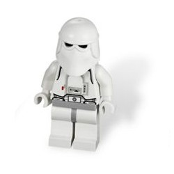 LEGO STARWARS Minifiguras - Snowtrooper