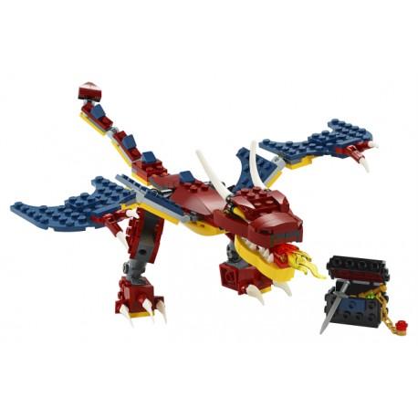 LEGO Creator - Dragão do Fogo (2020)