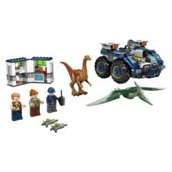 LEGO Jurassic World - Fuga de Gallimimus e Pteranodonte 2020            (391 pçs)