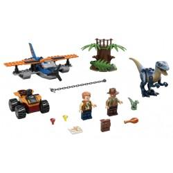 LEGO Jurassic World - Velociraptor: Missão de Resgate com Biplano2020 (101 pçs)