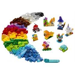 LEGO Classic - Peças Transparentes Criativas (500pcs) 2021