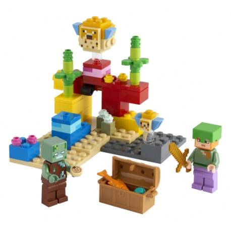 LEGO Minecraft - O Recife de Coral (92pcs) 2021