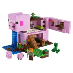 LEGO Minecraft - A Casa do Porco (490pcs) 2021