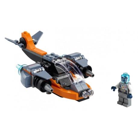 LEGO Creator - Ciberdrone (113pcs.) 2021