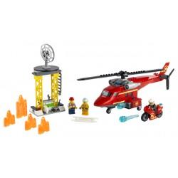 LEGO City Fire - Helicóptero de Resgate dos Bombeiros (212pcs.) 2021