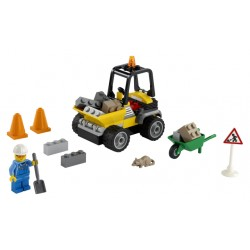 LEGO City Great Vehicles - Camião de Obras na Estrada (58pcs.) 2021