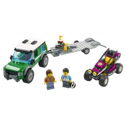LEGO City Great Vehicles - Transportador de Buggy (210pcs.) 2021