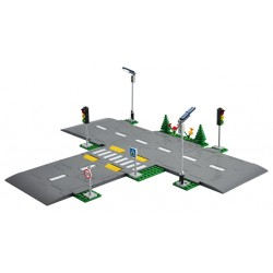 LEGO City Town - Placas de Estrada (112pcs) 2021