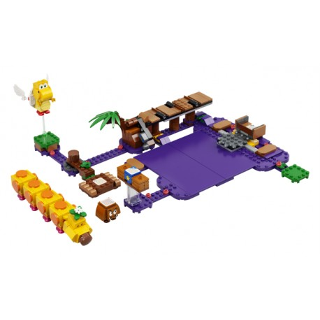 LEGO Super Mário - Pântano Venenoso da Lagartola (374pcs) 2021