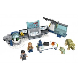 LEGO Jurassic World - Laboratório do Dr. Wu: A Fuga dos Dinossauros Bebés (164 pçs)  2020