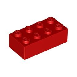 LEGO Peça - Brick 2x4 (Red) 1978